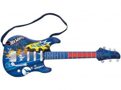 Guitarra de Brinquedo Hot Wheels - Fun