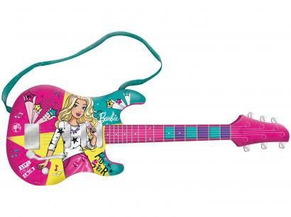 Guitarra de Brinquedo Barbie Fabulosa - F00045