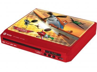 DVD Player Tectoy Aviões - Conexão USB MP3 Ripping