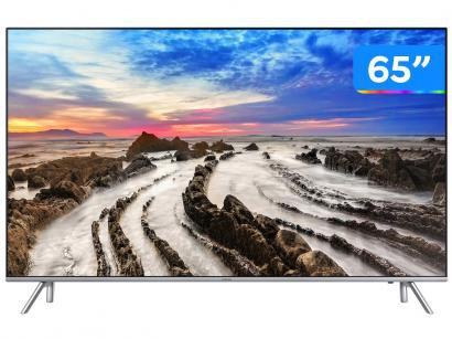 "Smart TV 4K LED 65"" Samsung 65MU7000 Wi-Fi - Conversor Digital 4 HDMI 3 USB"