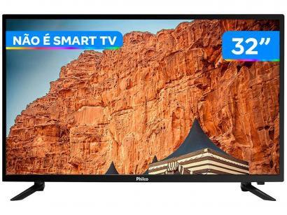 "TV LED 32"" Philco PTV32C30D Conversor Digital - HDMI USB"