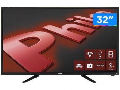 "Smart TV LED 32"" Philco PH32B51DSGWA - Conversor Digital Wi-Fi 2 HDMI 2 USB"