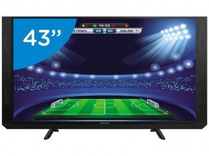 "Smart TV LED 43"" Panasonic Full HD TC-43SV700B - Conversor Digital Wi-Fi 3 HDMI..."