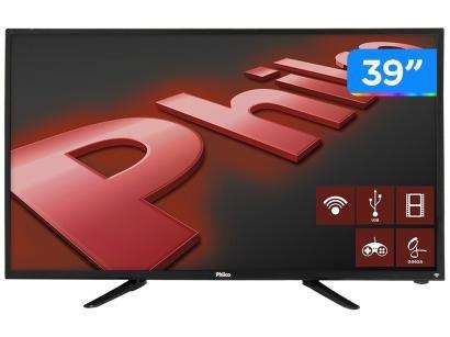"Smart TV LED 39"" Philco PH39N91DSGWA Android - Wi-Fi Conversor Digital 2 HDMI 2..."
