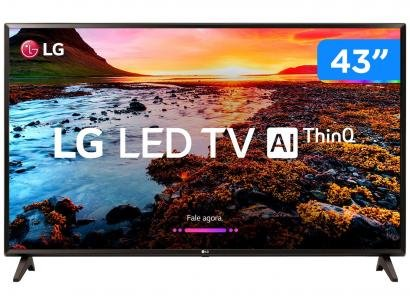 "Smart TV LED 43"" LG 43LK5750 Full HD Wi-Fi HDR - Inteligência Artificial..."