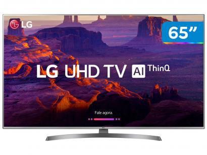 """Smart TV 4K LED 65"""" LG 65UK6540 Wi-Fi HDR - Inteligência Artificial Conversor..."""
