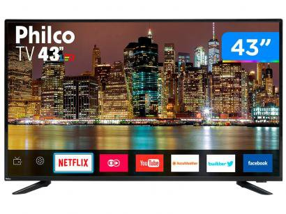 "Smart TV LED 43"" Philco PTV43E60SN Full HD - Wi-Fi 3 HDMI 2 USB"