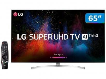"Smart TV 4K LED 65"" LG 65SK8500PSA Wi-Fi HDR - Inteligência Artificial 4 HDMI 3..."