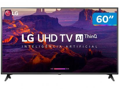 """Smart TV 4K LED 60"""" LG 60UK6200 Wi-Fi HDR - Inteligência Artificial Conversor..."""