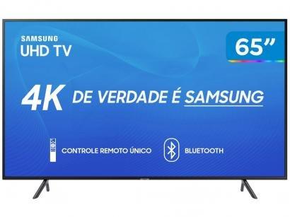 "Smart TV 4K LED 65"" Samsung UN65RU7100 Wi-Fi - HDR Conversor Digital 3 HDMI 2..."