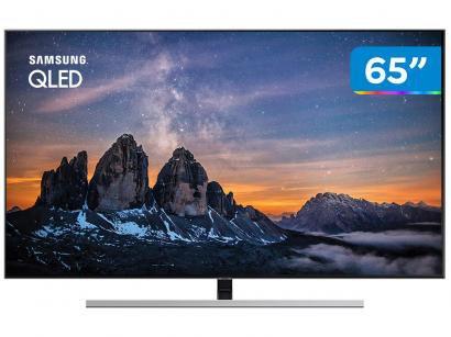"Smart TV 4K QLED 65"" Samsung QN65Q80RAG Wi-Fi - HDR Conversor Digital 4 HDMI 3..."
