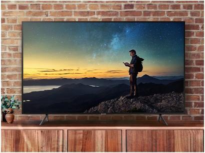 "Smart TV 4K LED 58"" Samsung UN58NU7100GXZD - Wi-Fi Conversor Digital 3 HDMI 2..."