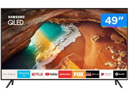 """Smart TV 4K OLED 49"""" Samsung QN49Q60RAGXZD - Wi-Fi HDR Conversor Digital 4 HDMI..."""