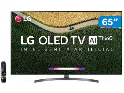 "Smart TV 4K OLED 65"" LG OLED65B9PSB - Wi-Fi HDR Inteligência Artificial..."