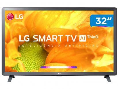 "Smart TV LED 32"" LG 32LM625BPSB Wi-Fi - Inteligência Artificial Conversor..."
