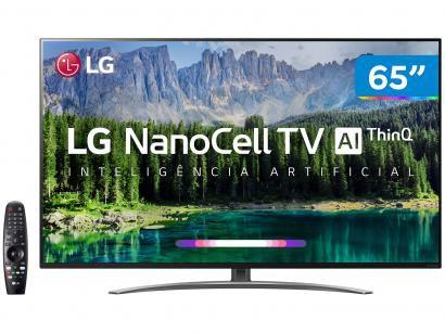"Smart TV 4K LED 65"" LG C2 65SM8600PSA - Wi-Fi Inteligência Artificial 4 HDMI 3 USB"