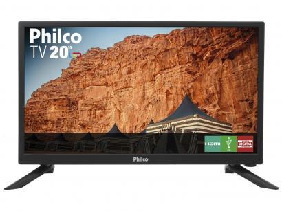 "TV LED 20"" Philco PH20N91D Conversor Digital - 1 HDMI 1 USB"