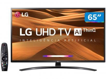 "Smart TV 4K LED IPS 65"" LG 65UM7470PSA Wi-Fi - Bluetooth HDR Inteligência..."
