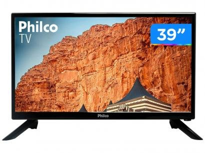 "TV LED 39"" Philco PTV39F61D - 2 HDMI 1 USB"