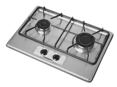 Cooktop 2 Bocas Acendimento Automático Inox - Fogatti 200I