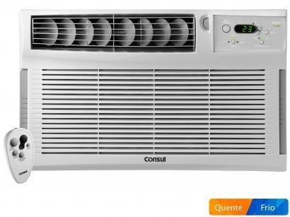 Ar-condicionado de Janela Consul 12000 BTUs - Quente/Frio CCZ12DBBNA com...