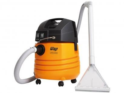 Aspirador de Pó e Água Profissional Wap 1600W - Carpet Cleaner Amarelo e Preto