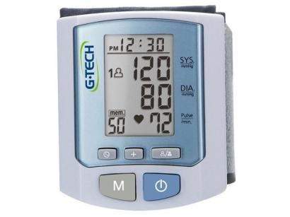 Aparelho Medidor de Pressão Arterial Digital - G-Tech RW450