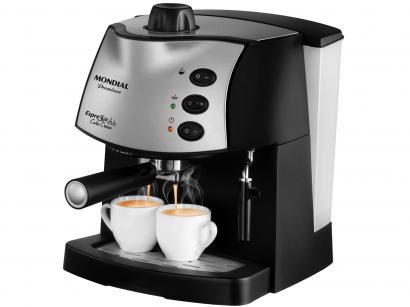 Cafeteira Elétrica Expresso - Mondial Coffee Cream Premium C-08