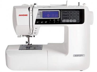 Máquina de Costura Janome 4120QDC Eletrônica - 120 Ponto Mesa Extensora