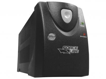 Nobreak Force Line 1200VA Monovolt 110V 4 Tomadas - 637