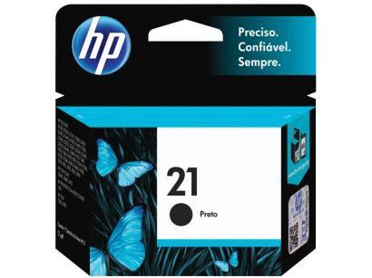 Cartucho de Tinta HP Preto 21 - Original