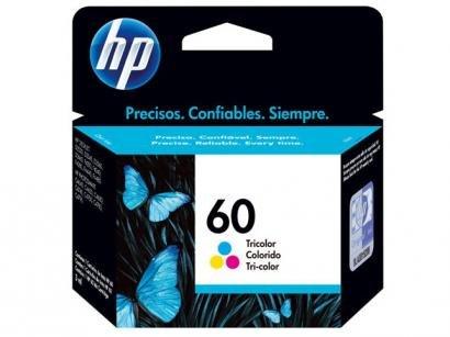 Cartucho de Tinta HP 60 Colorido - Original