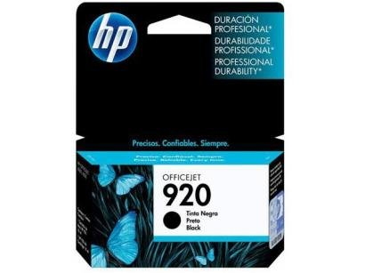 Cartucho de Tinta HP Preto 920 Officejet - Original