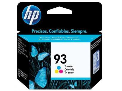 Cartucho de Tinta HP Colorido 93 - Original