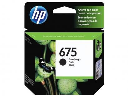 Cartucho de Tinta HP 675 Preto - Original