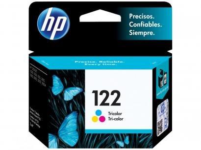 Cartucho de Tinta HP Colorido 122 Original P/ - HP D 1000 2000 2050 3050