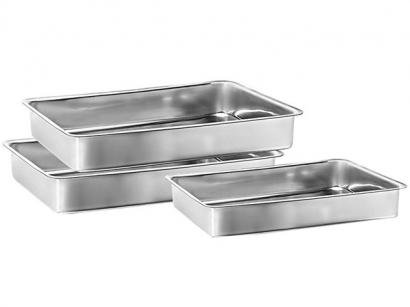 Conjunto de Assadeiras Marcolar - Retangular Alumínio 3 Peças 207