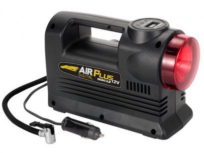 Compressor de Ar Digital Air Plus 12V c/ Lanterna - Schulz 920 1163 0