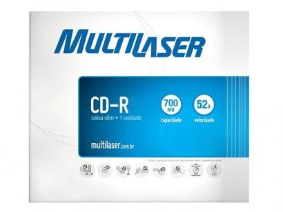 CD-R 700MB 80min - Multilaser CD001