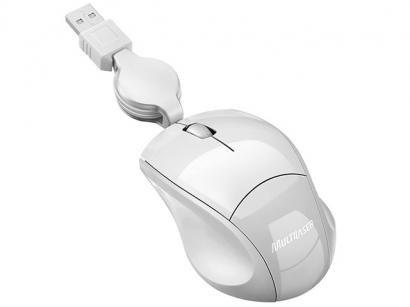 Mini Mouse Óptico 800dpi Retrátil - Multilaser MO155