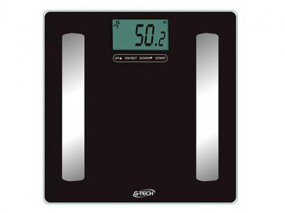 Balança Digital até 150kg com Medidor de Gordura - Medição de Água Corporal -...