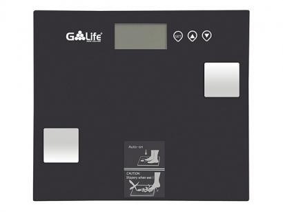 Balança Digital até 150kg Vidro Temperado G-life - CA7000 Com Medidor de...