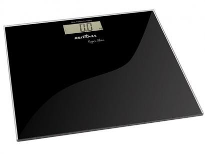 Balança Digital Visor LCD Antiderrapante - Super Slim - Britânia
