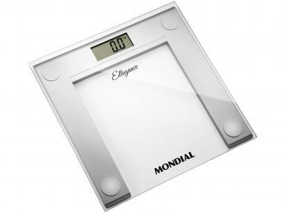 Balança Digital até 150kg Antiderrapante Mondial - BL 03