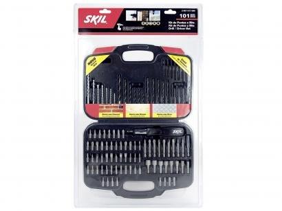kit de Ferramentas de Perfuração 101 Peças Skil - 2607017087