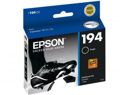Cartucho de Tinta Epson T194120 BR Preto - Original