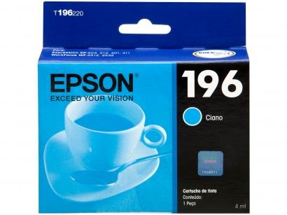 Cartucho de Tinta Epson Ciano - T196220-BR