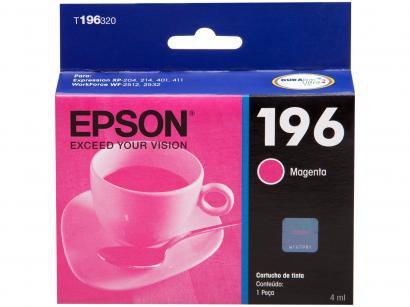 Cartucho de Tinta Epson T196320-BR Magenta - Original