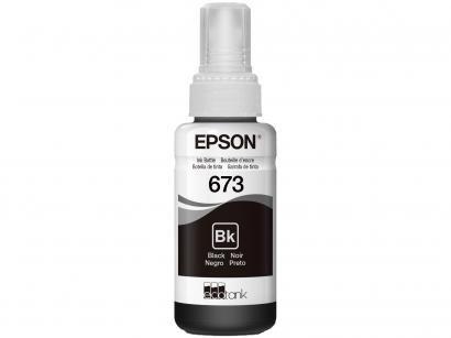Refil de Tinta Preto Epson - T673120-AL para Epson L805