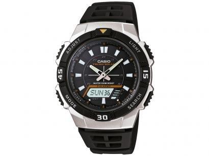 4476c3ddce9 Relógio Masculino Anadigi Casio AQ-S800W-1EVDF - Preto